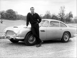 Aston Martin og Sean Connery